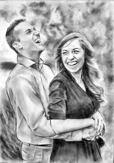 Unusual gifts for Men, birthday presents for him, boyfriend gift, christmas gifts for men, Custom portrait drawing