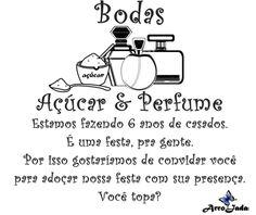 ArroJada Mix: Ideias para Bodas de Açúcar ou Perfume