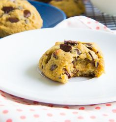 Perfect Coconut Flour Chocolate Chip Cookies