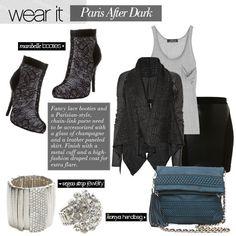Paris After Dark Outfit