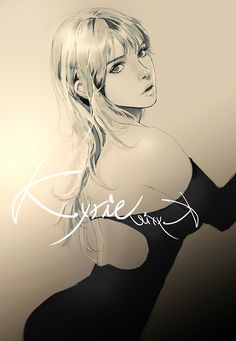 Chic by Kyrie0201.deviantart.com on @deviantART ~Rayshael Young pops into my head when I look at this!