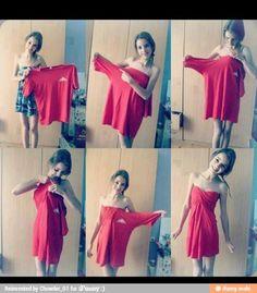 Best idea for a summer dress DIY sleeveless dress