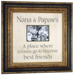 Grandparents Christmas Gift, Personalized Picture Frame, Nana, Papaw, Papa, Grandmother, Grandfather, Personalized Photo Frame, 16 X 16