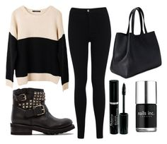 """""""#PrayForBosnia"""" by amina-persie ❤ liked on Polyvore featuring Miss Selfridge, Ash Rain + Oak, Ash, Forever 21 and Nails Inc."""