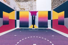 Nike, Pigalle and Ill-Studio Redesigned the Paris Duperré Basketball Court | HeyDesign Graphic Design & Typography Inspiration