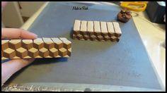 Effet 3D en pâte polymère avec l'extrudeur