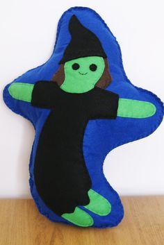 Wicked Witch Cushion www.kidish.co.uk