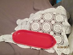 $8 Fiesta Ware Scarlet Red Relish Utility Tray | eBay