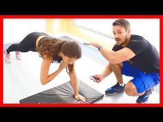 Barriga Chapada e Corpo Definido - 4 Minutos de Exercícios Para SECAR a BARRIGA e Perder Peso [Q48] - YouTube