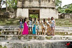 Reina de la Costa Maya Official Photo Shoot at Cahal Pech by Jose Luis Zapata