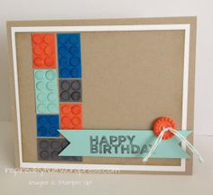 Stampin Up Lego