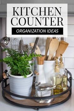 Remodeling Kitchen Countertops These kitchen countertop organization ideas are super genius! Must check out post if you need an instant motivation to organize your kitchen countertop. Kitchen Countertop Organization, Kitchen Countertop Materials, Kitchen Countertops, Kitchen Storage, Kitchen Decor, Kitchen Ideas, Kitchen Remodeling, Remodeling Ideas, Kitchen Cabinets