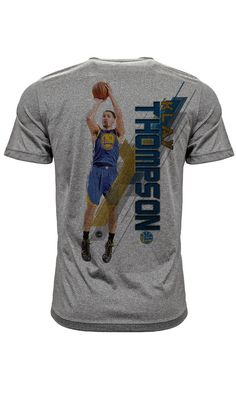 Klay Thompson Golden State Warriors Fadeaway T-Shirt Sydel Curry 6d340f692