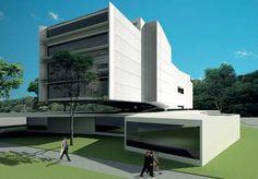 Angelo Bucci: Concurso Fechado para Biblioteca da PUC/RJ - ARCOWEB