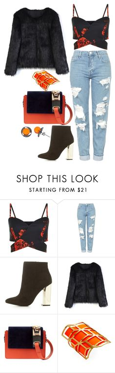 """""""choose good"""" by be-the-1 ❤ liked on Polyvore featuring Topshop, Charlotte Russe, Chicwish, Amey Martin, Pierre Hardy and Goldmajor"""