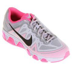 Tênis Nike Air Max Tailwind 7 - Cinza+Rosa
