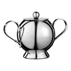 Nick Munro Spheres Sugar Bowl With Spoon ($50) ❤ liked on Polyvore featuring home, kitchen & dining and serveware