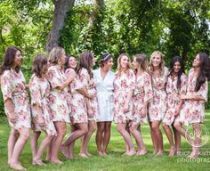 bridesmaid robes cheap unique bridesmaid gifts cotton kimono bridal shower gift Bridal Party Robes Not set of 11 IN001 by ForBride on Etsy https://www.etsy.com/listing/246001816/bridesmaid-robes-cheap-unique-bridesmaid