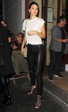 Outfits casuales que le copiaré a Kendall Jenner