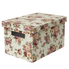 Country Floral Storage Box | Dunelm Mill