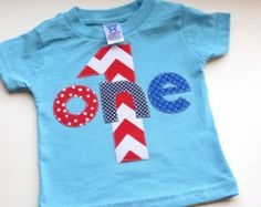 1e9192082 4th of July Onesie Set Personalized Onesie. See more. chevron boy - Google  Search First Birthday Shirts, Mickey Birthday, First Birthday Parties,