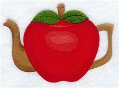 Machine Embroidery Designs at Embroidery Library! - Tea Time