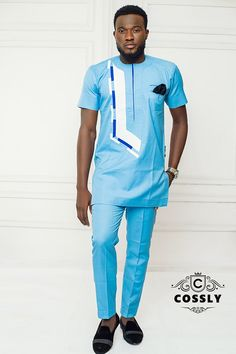 For the Modern Man with Traditional Taste - Cossly releases Spring/Summer 2018 Collection - BellaNaija Best African Dress Designs, African Wear Styles For Men, African Shirts For Men, African Clothing For Men, African Male Suits, African Dresses Men, African Attire For Men, Nigerian Men Fashion, African Men Fashion