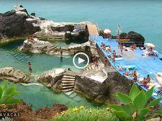 Deslumbrantes Praias e Piscinas da Madeira