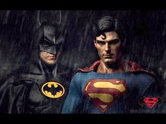 Batman v Superman With Michael Keaton And Christopher Reeve Looks Amazing…