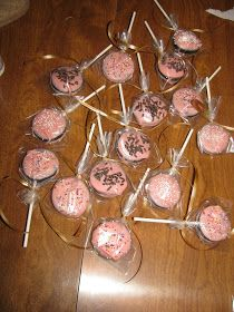 Corrie Food: Pink Oreo Pops for a Baby Shower with Emily!