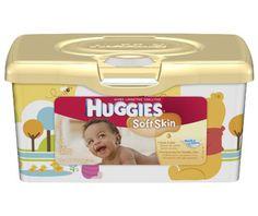 Huggies Soft Skin Baby Diaper Wipes, Tub, 512-Count - http://www.intomars.com/huggies-soft-skin-baby-diaper-wipes.html