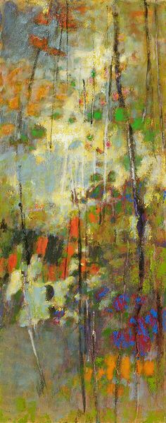 original oil paintings and pastels from American artist Rick Stevens Abstract Tree Painting, Abstract City, Abstract Landscape, Landscape Paintings, Claude Monet, Pablo Picasso, Rick Stevens, Virtual Art, Paintings I Love