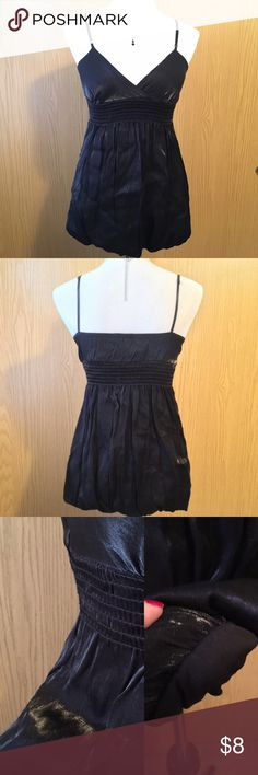 Cute Dress Top Dress top with adjustable straps. Worn once with leggings. Great condition. Blue Sketch Tops