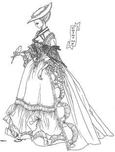 """Baroque era aristocrat from """"Yume No Tsuzuki"""" series by manga artist Reiko Shimizu."""