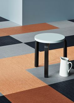The Art of Performance Quirky Collection by Bolon – Trendland Online Magazine Curating the Web since 2006 Bolon Flooring, Grey Flooring, Flooring Companies, Interior Photography, Weaving Techniques, Family Traditions, Innovation Design, Interior Styling, Art Pieces
