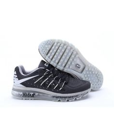 online store b814e 0be08 Homme Nike Air Max 2015 Noir Gris Chaussures