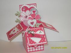 Card in a Box by stampingcrazykitty - Cards and Paper Crafts at Splitcoaststampers