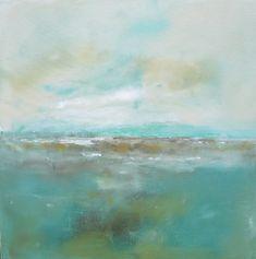 Abstract Landscape Original Art Seaside with by Linda Donohue #buyart #cuadrosmodernos #art