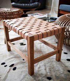 Möbler flätade i sadelgjord eller läder är både vackert och tidlöst. Idag tänkte jag visa en flätad designklassiker och en guide på hur man...