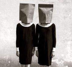 """regardintemporel: """" Nicolas Ferrando - Twins (Paper Bags) """""""