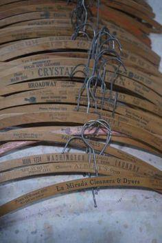 vintage coat hangers