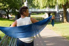 Nerine shawl by Mari Chiba