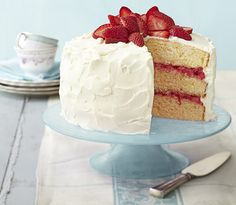 Layer Cake Decorating Tips - How to Make a Layer Cake - Good Housekeeping