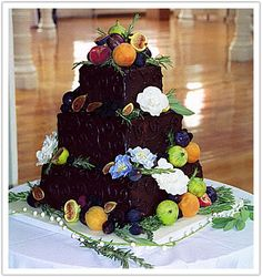 Top Fruit Wedding Cakes 6