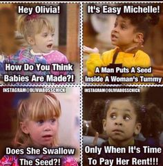 #oliviabosschick #instagram #olsentwins how do you think babies are made? Lol humor hahhaha