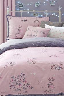 Fairy Tale Cotton Rich Print Bed Set