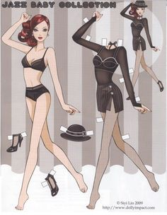 Jazz Baby Collection Paper Doll - Katerine Coss - Picasa Web Albums