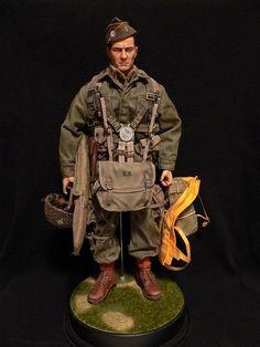 "Lt ""Frank Laird"" 101st Market Garden - Sixth Army Group"