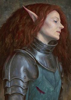 The Kings Knight by Brian Froud, seen in Brian and Wendy Froud's new art book, FAERIES' Tales.