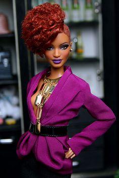 Barbie | Jon Copeland | Flickr African American Dolls, Beautiful Barbie Dolls, Black Barbie, My Black Is Beautiful, Barbie Collector, Barbie World, Barbie Friends, Barbie And Ken, Doll Face